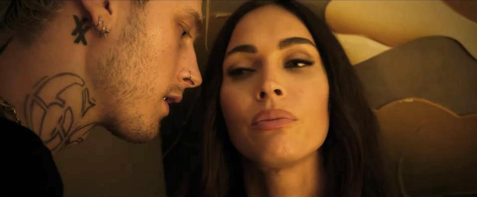 Colson Baker and Megan Fox met on the set of 'Midnight in the Switchgrass' (Photo: Lionsgate / Courtesy Everett Collection)