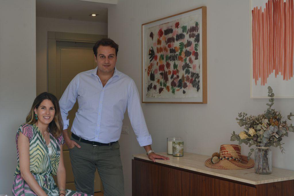 Alejandro Lazaro and Alejandra Gonzales