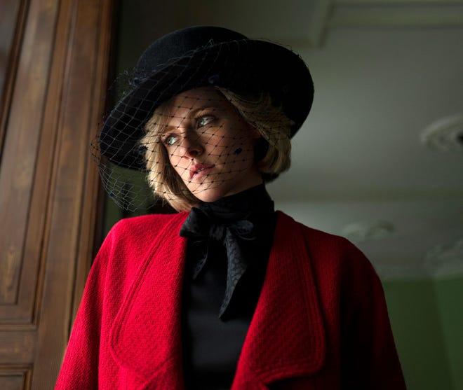 "Kristen Stewart portrays Princess Diana in ""Spencer."""