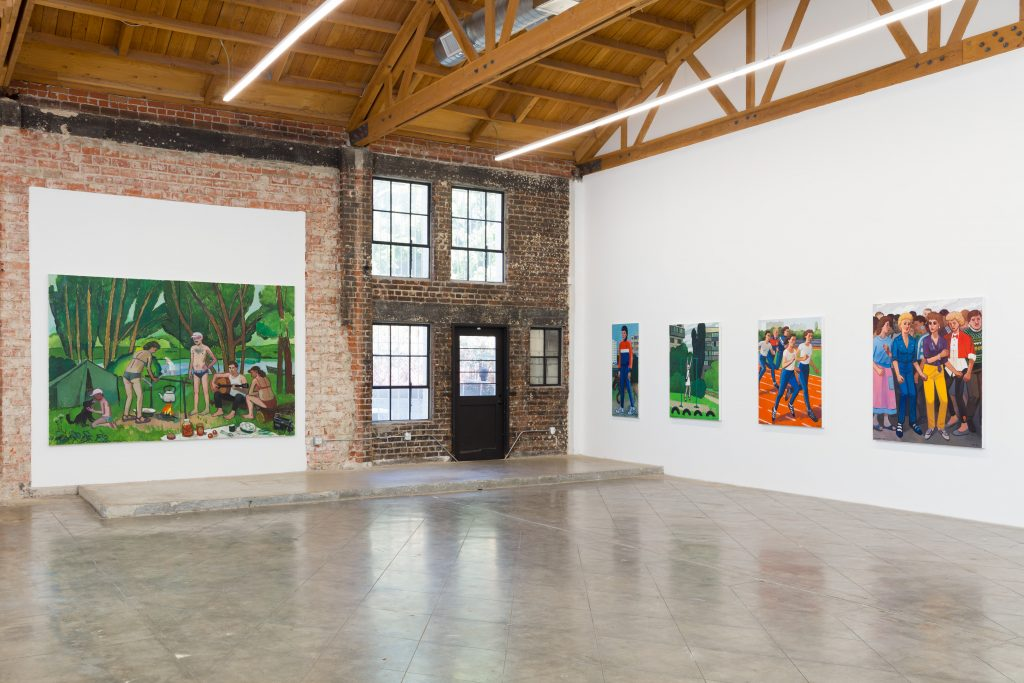 Installation view, Fort Gansevoort in Los Angeles. Photo: Courtesy of the artist and Fort Gansevoort.