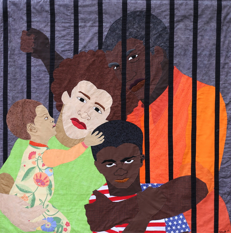 Dawn Williams Boyd, <i>The Trump Era: Incarcerated</i> (2019). Photo: Courtesy of the artist and Fort Gansevoort.