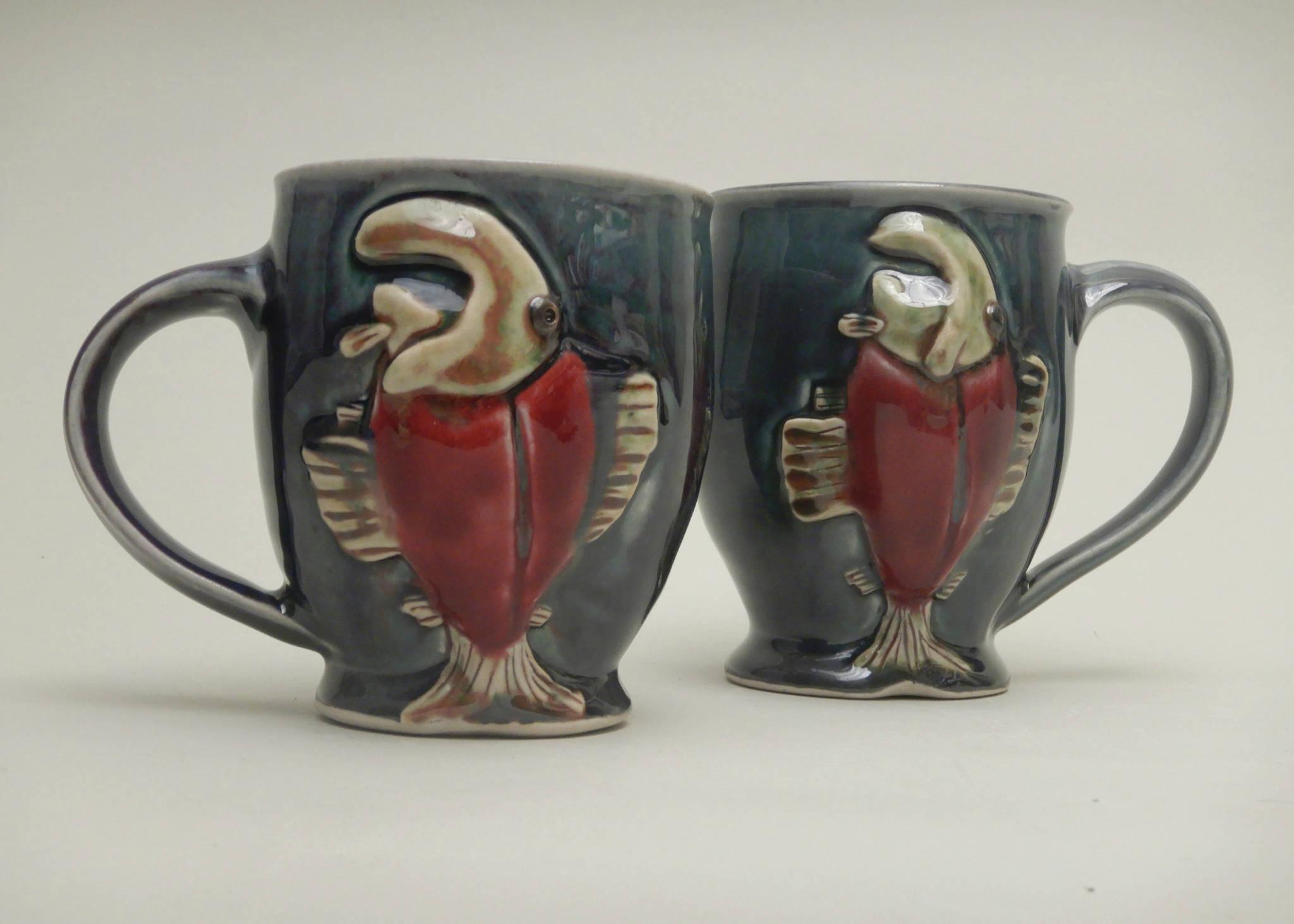 Kim Nielsen's pottery goes on exhibit Friday, Sept. 3, 2021, at Ptarmigan Arts in Homer, Alaska. (Photo courtesy of Ptarmigan Arts)