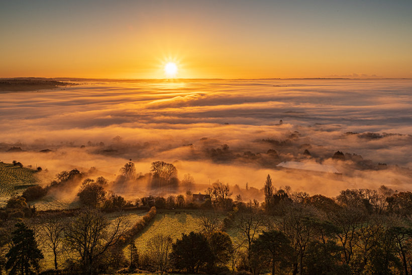 How to photograph misty mornings in September